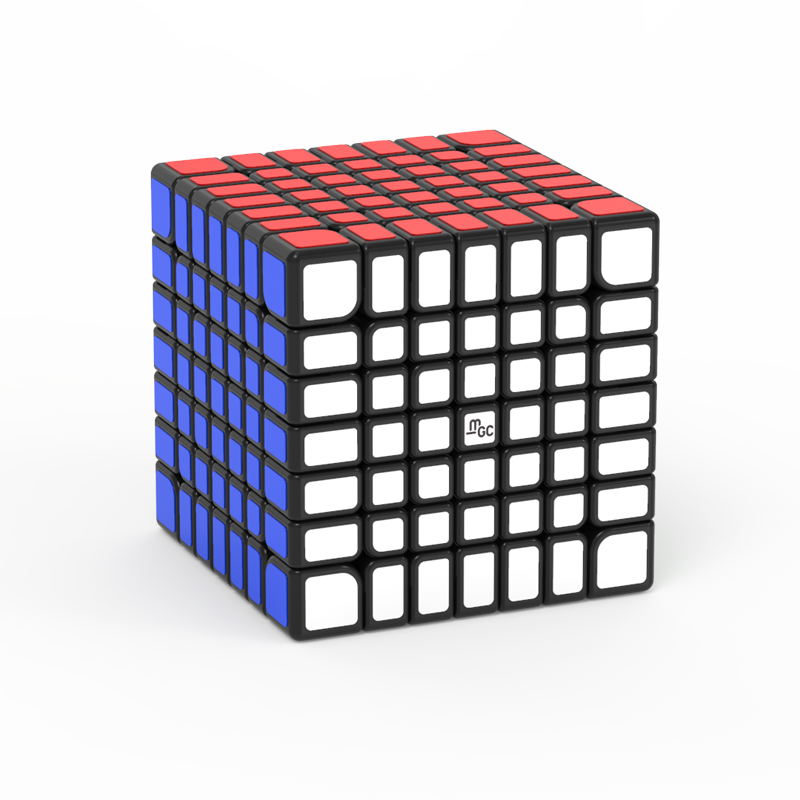 YJ MGC 7x7 MGC7 Magnetic Speedcube black