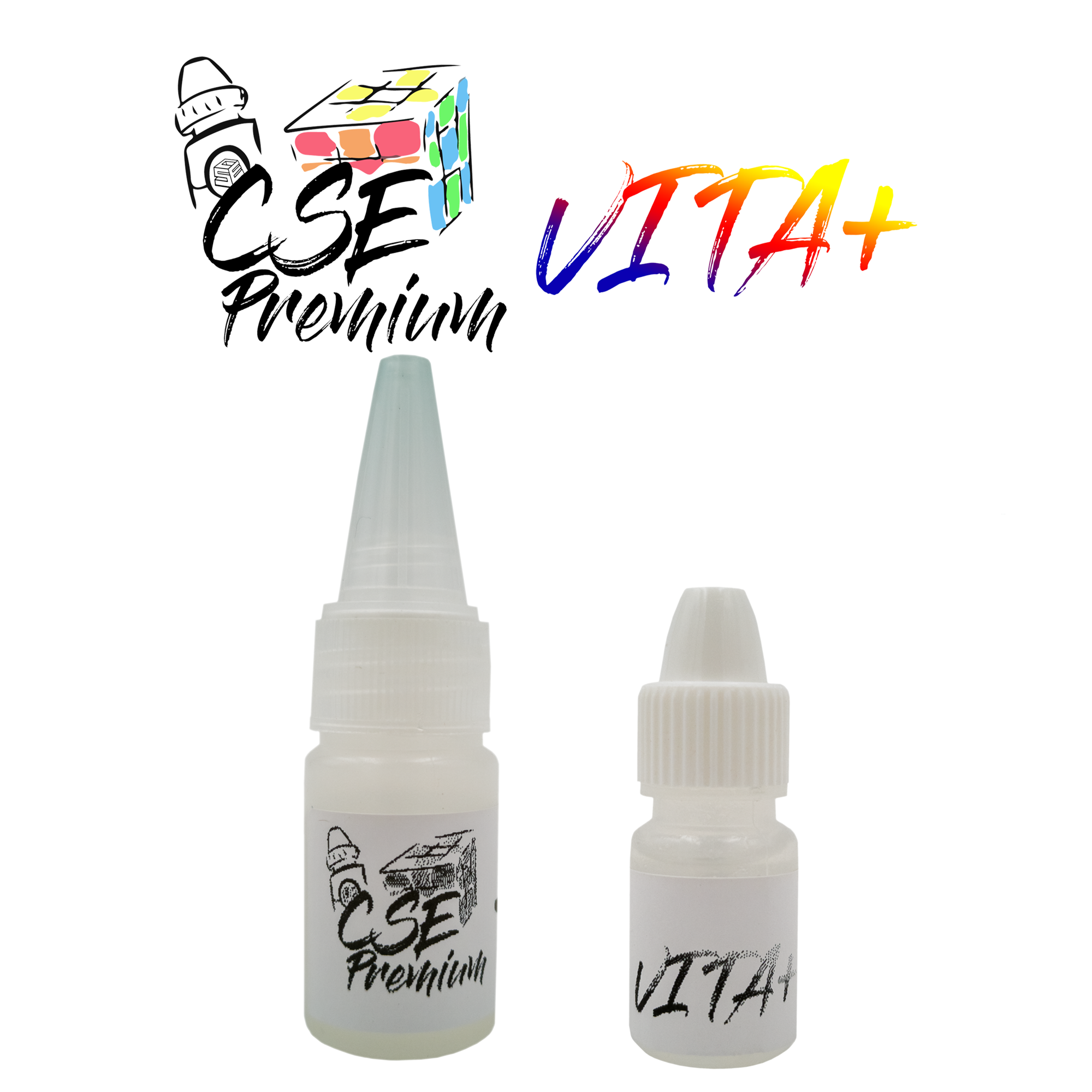 cuberspace premium vita+ 10cc and 5cc bottles