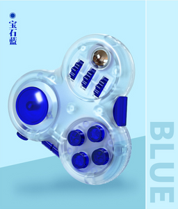 qiyi fidget toy blue color transparent