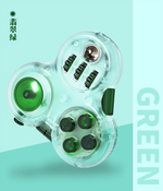 qiyi fidget toy green color transparent