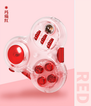 qiyi fidget toy red color transparent