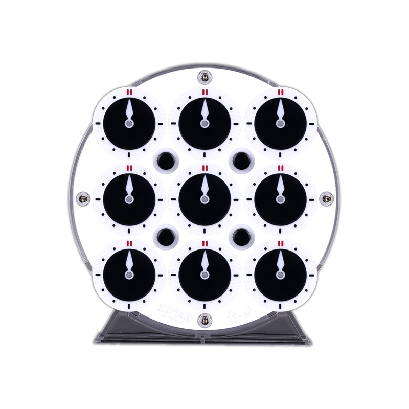 qiyi magnetic clock white side face