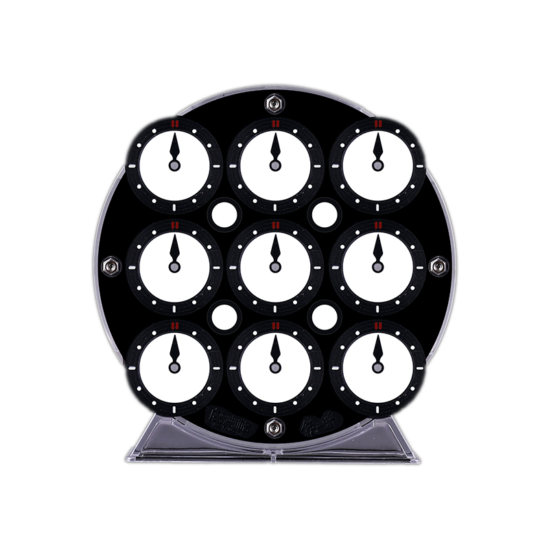 qiyi magnetic clock black side face