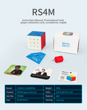 rs4m 2020 packaging and accessories