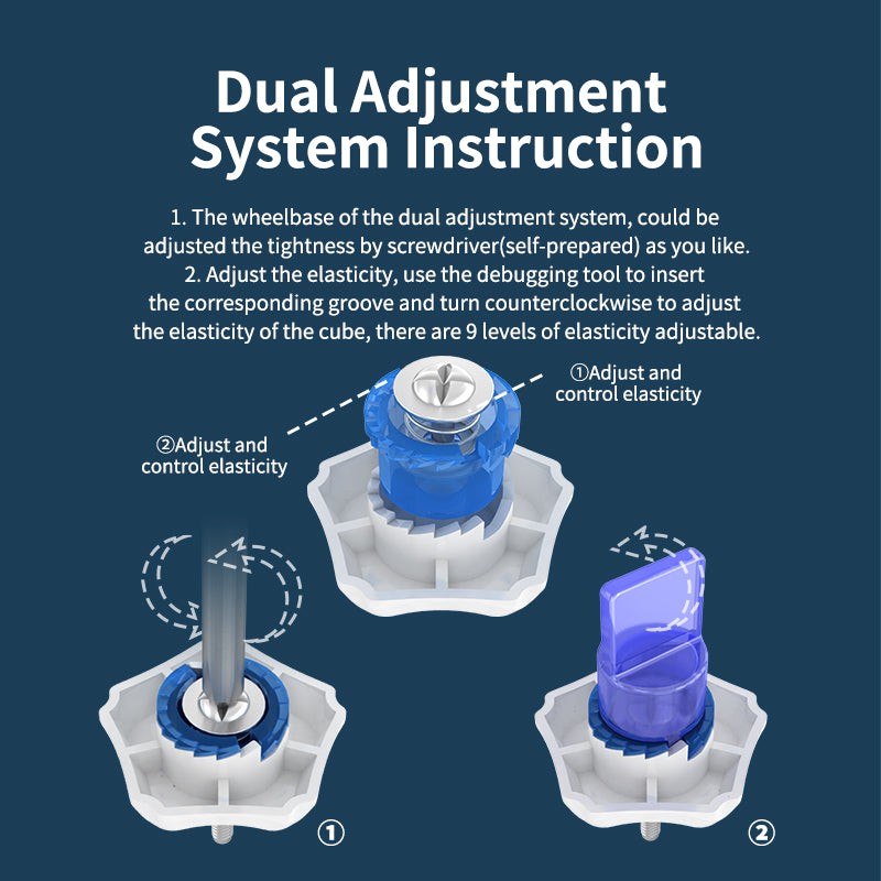 moyu aohun wrm 2020 dual adjustment instructions