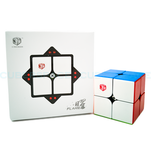 XMD flare 2x2 Magnetic speedcube with box