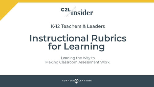 325.000.IN - Instructional Rubrics for Learning
