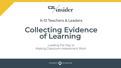 328.000.IN - Collecting Evidence of Learning