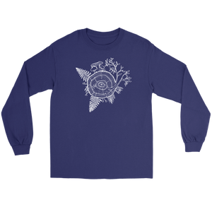 Men's Long Sleeve White Tree of Life