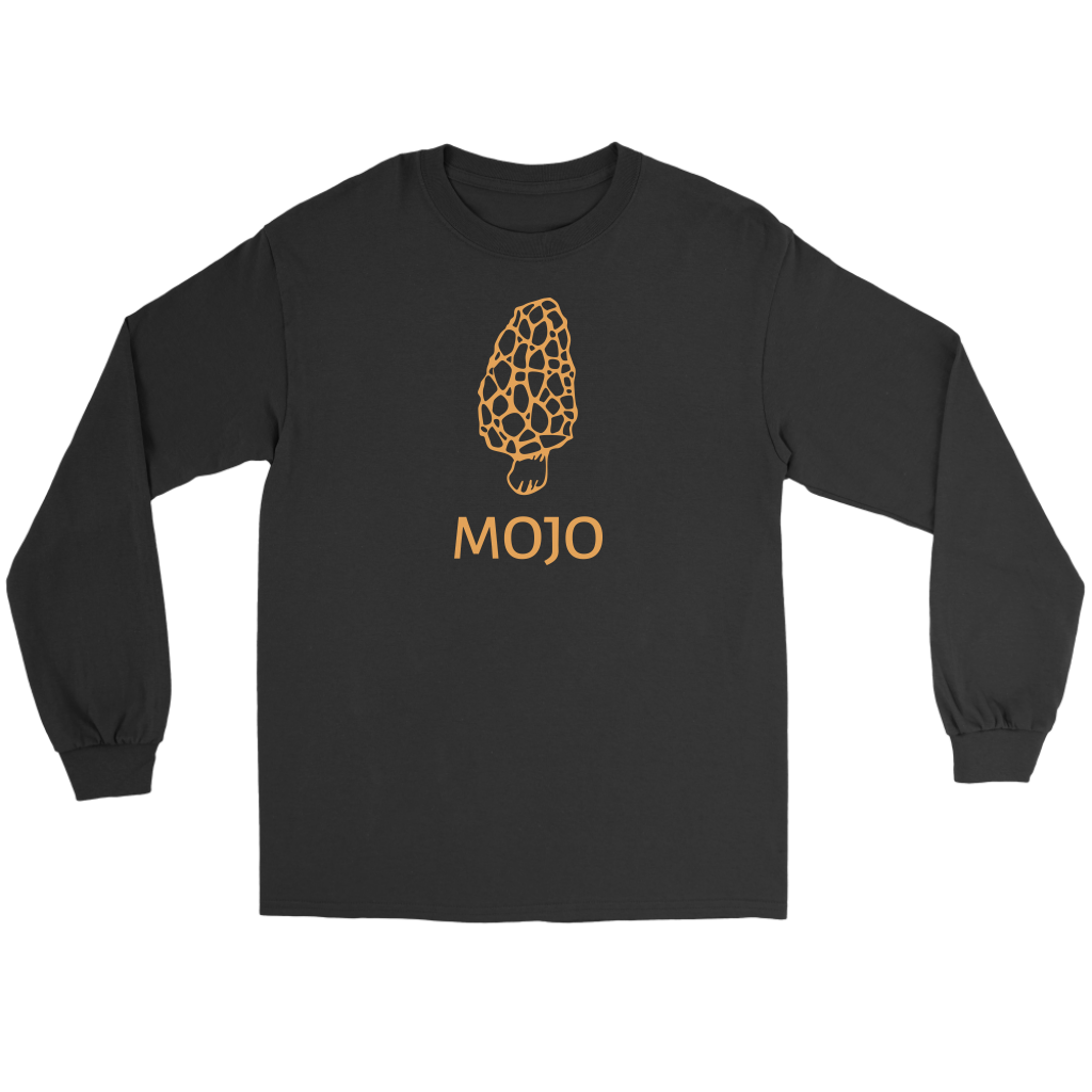 Unisex Morel Mojo Long Sleeve Tee