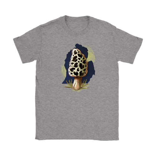 Women's Michigan Morel Tee