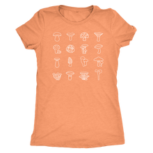 Load image into Gallery viewer, Women's Mushroom Basket Tee