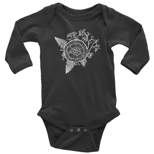 Long Sleeve Tree of Life Onesie
