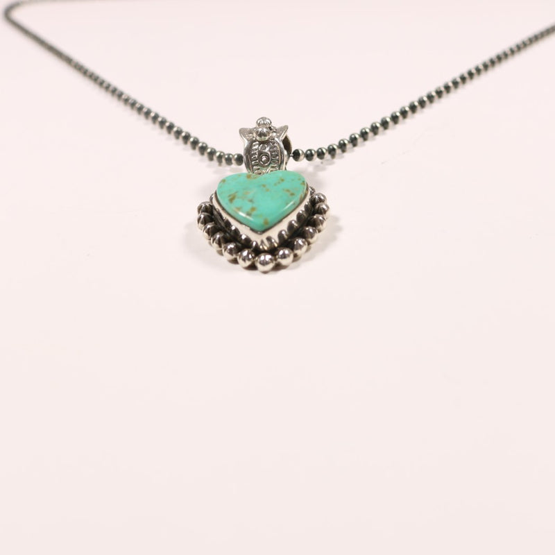 Turquoise Heart - Small