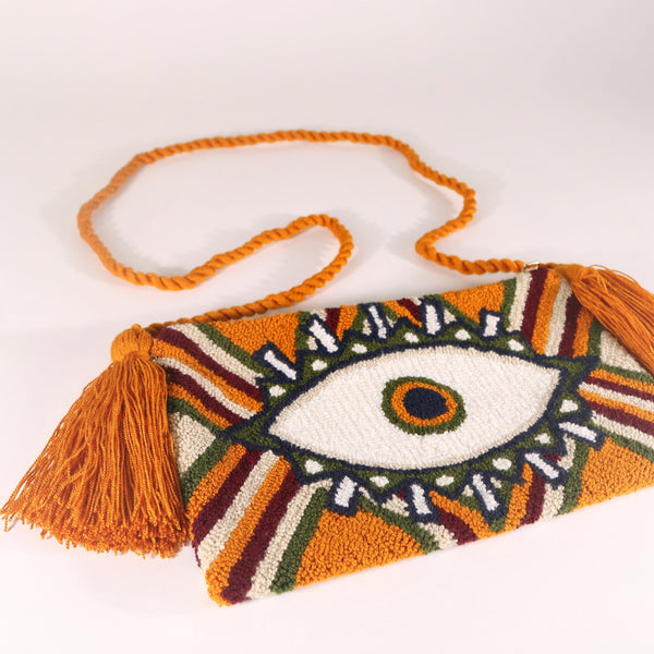 Third Eye Clutch - Mel Mustard