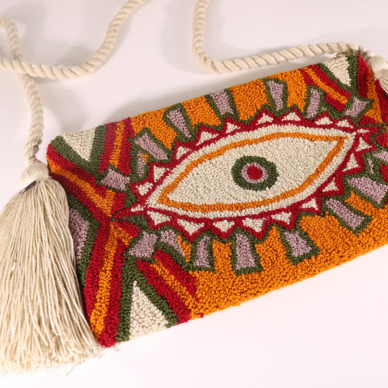 Third Eye Clutch - Ema Latte