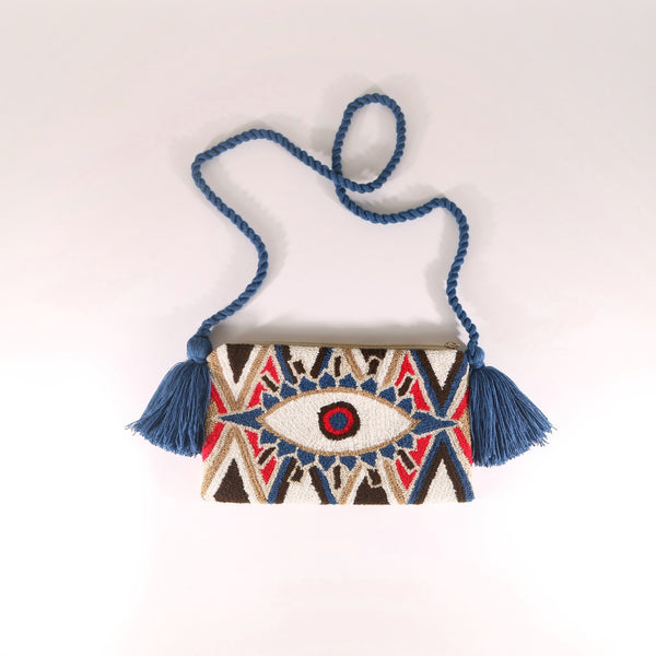 Third Eye Clutch - Croix Blue