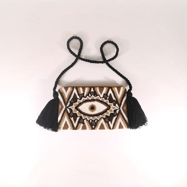 Third Eye Clutch - Croix Brown
