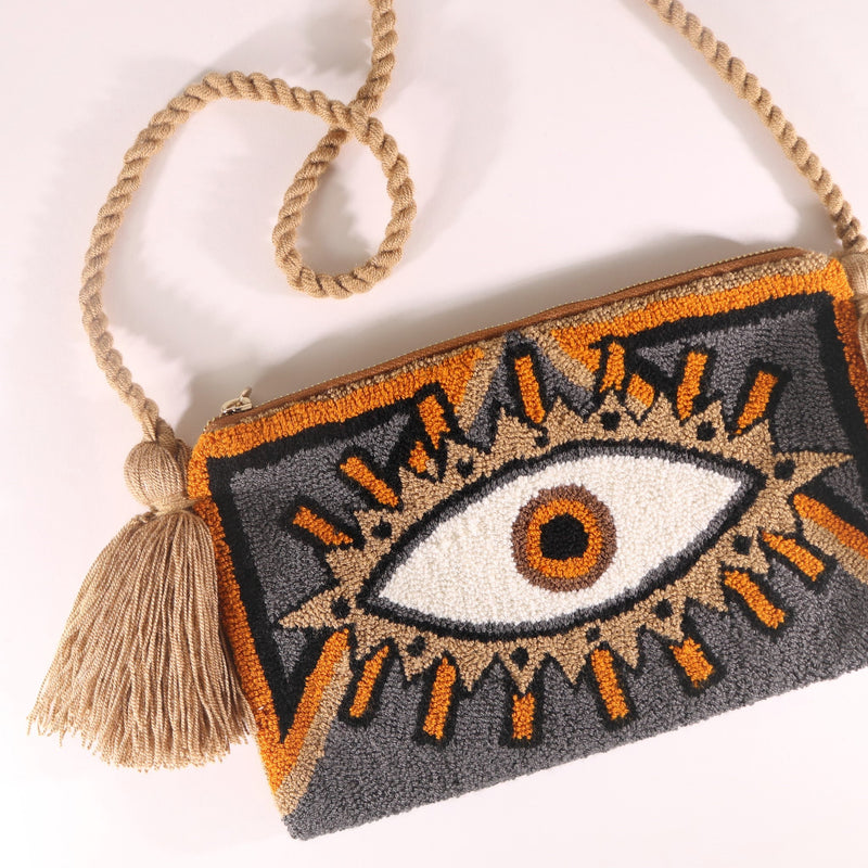 Third Eye Clutch - Ari Grey