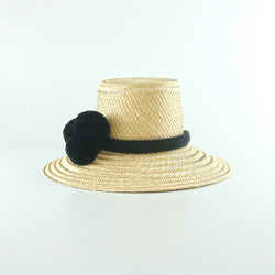 Guajiro Hat - Black - wayuu-dreaming