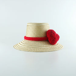 Guajiro Hat - Red - wayuu-dreaming