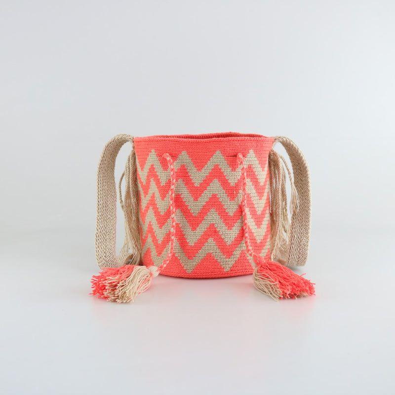 Zebra C Wayuu Bag - Small - wayuu-dreaming