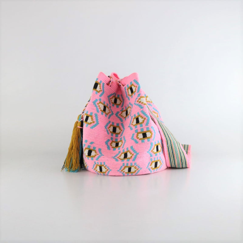Flamenco B Wayuu Bag - wayuu-dreaming