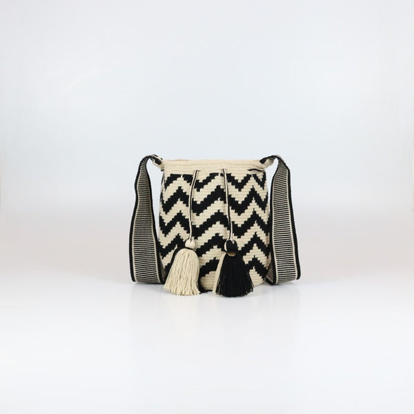 Zig Zag Wayuu Bag - Medium