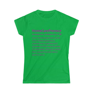 HCP Definition Women's Softstyle Tee