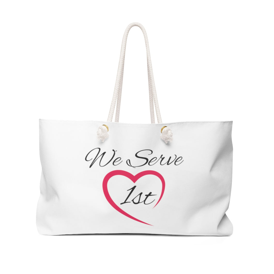 We Serve 1st Administrator Tote