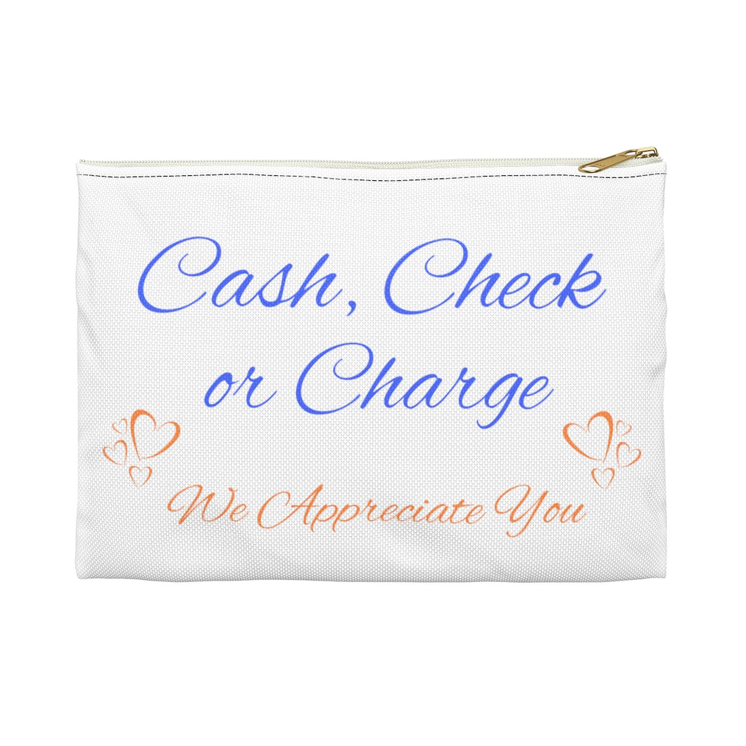 Cash, Check... Money Pouch