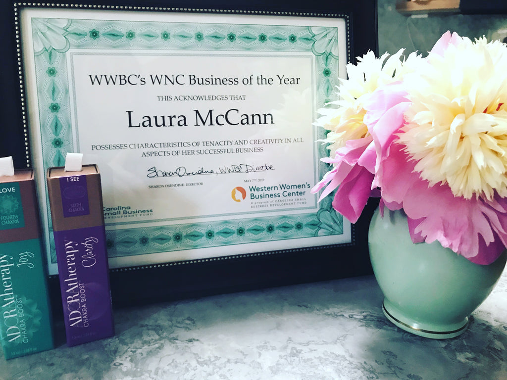 Asheville Based Artisan Perfumer ADORAtherapy Named North Carolina Small Business of The Year in WNC
