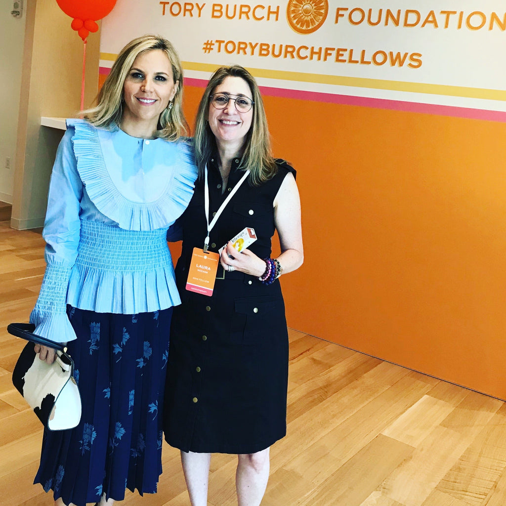 Adoratherapy's CEO becomes a Tory Burch Fellow