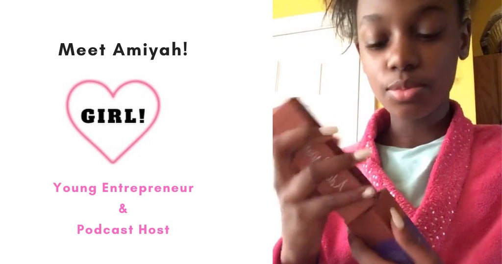We Adore Amiyah and Girl! Meet one of our youngest Ambassadors.