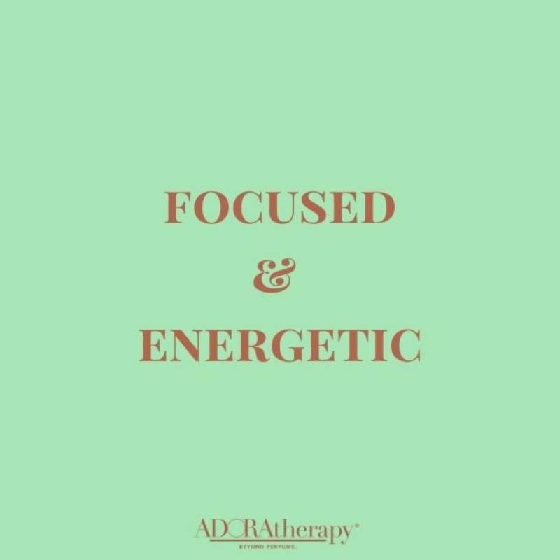 Focused & Energetic