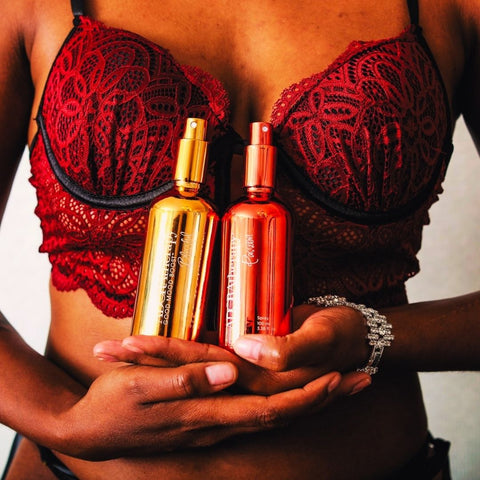 Adoratherapy Passion and Blissful with Patchouli oil for the root and sacral chakras