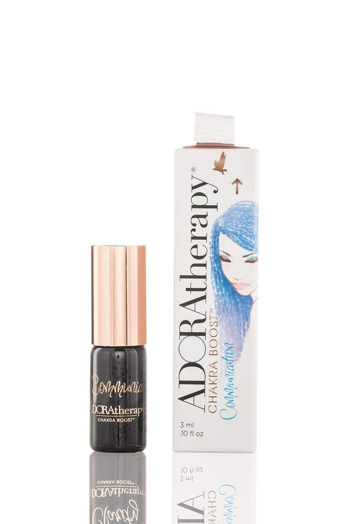 Adoratherapy.com Communication Chakra Boost Roll On Perfume Oil