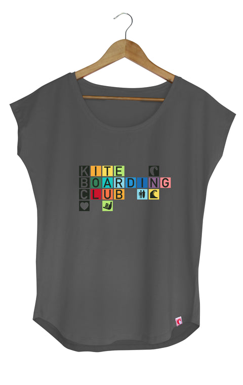 "Shirt Cosyfit ""Colour Cubes"" Grau"