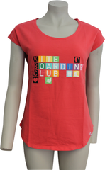 "Shirt Cosyfit ""Colour Cubes"" Rot"
