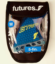 Future Fins F6 (M) Thermo Tech Thruster White USA