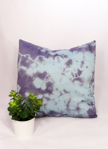 LILAC/BLUE - BURST CUSHION COVER