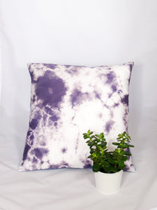 LILAC/WHITE - BURST CUSHION COVER