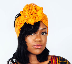 Red dots Headwrap