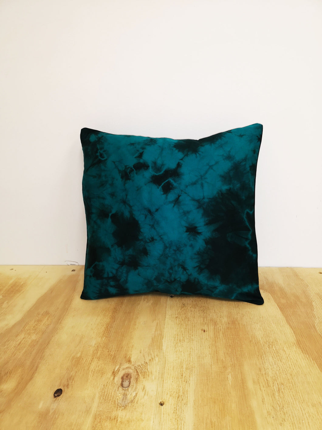 Ocean Green Burst Cushion Cover