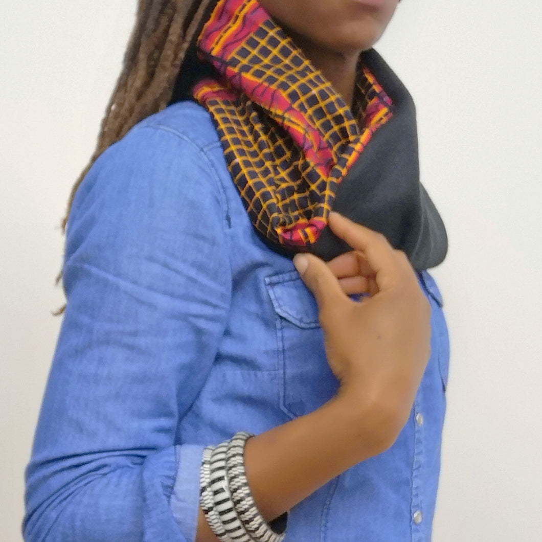Unisex Checks Snood