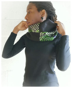 Unisex Chameleon Snood