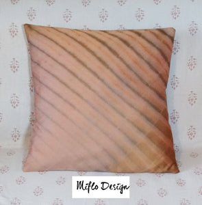 Shibori Style : Cushion Cover : Old Pink