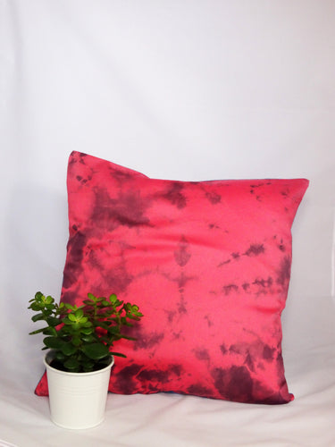 LILAC/CORAL- BURST CUSHION COVER
