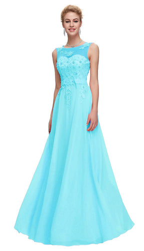 Adele Aqua Spa Blue Wedding Bridesmaid Dress UK