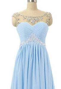 Athena - Pale  Blue (Sample Dress - In Stock)